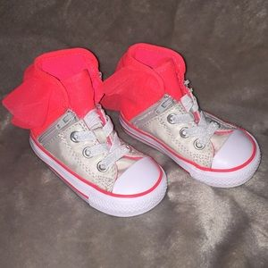 Converse Chuck Taylor High Top Infant girl shoes